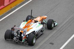 Paul di Resta, Sahara Force India Formula One Team with aero device