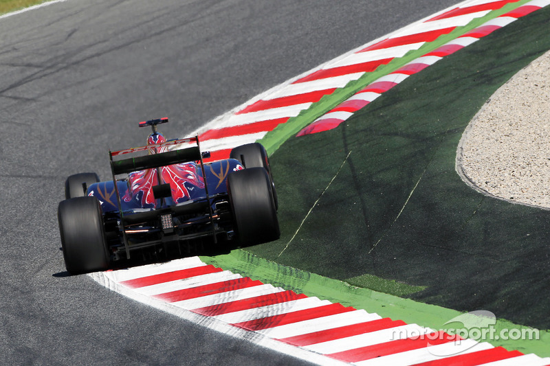 Daniel Ricciardo, Scuderia Toro Rosso STR7