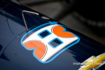 Car detail, Rubens Barrichello, KV Racing Technology Chevrolet