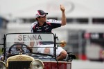 Bruno Senna, Williams on the drivers parade