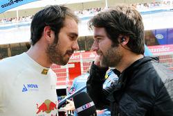 Jean-Eric Vergne, Scuderia Toro Rosso on the grid
