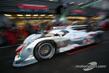 Championship leaders Kristensen/McNish compete as a duo