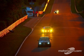 Sunrise on the Döttinger Höhe: #109 BMW M3: Axel Hörger, Michael Hess, Thomas Baltzer