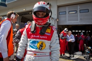Marc Basseng gets ready to take his last stint