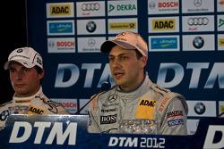 Bruno Spengler, BMW Team Schnitzer BMW M3 DTM, Gary Paffett, Team HWA AMG Mercedes, AMG Mercedes C-Coupe