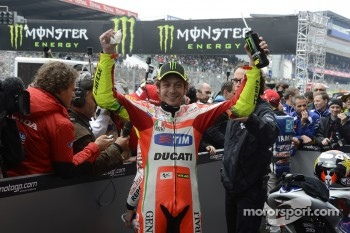 Second place Valentino Rossi, Ducati Marlboro Team
