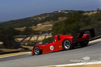 Bud Moeller in his Ferrari 2003-GA during Ferrari Racing Days