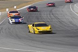#23 Ferrari Central Florida Racing Ferrari 458 Challenge: Onofrio Triarsi