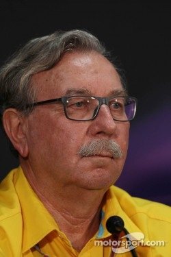 Jean-Francois Caubet, Renault Sport F1 Managing Director in the FIA Press Conference