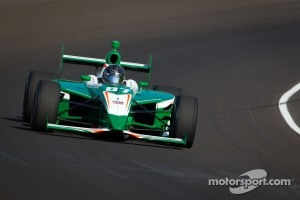Chase Austin in the Indy Lights car at Iowa