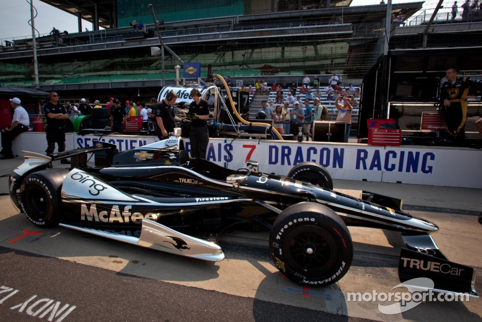 Car of Sbastien Bourdais, Dragon Racing Chevrolet