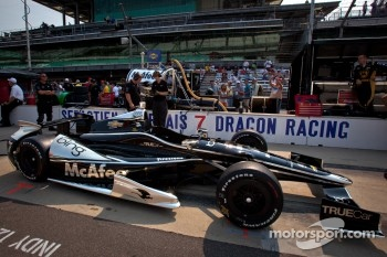 Car of Sébastien Bourdais, Dragon Racing Chevrolet