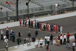 Group photo before the Firestone Freedom 100