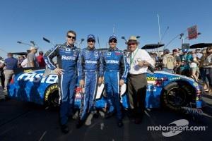 Carl Edwards, Matt Kenseth, Greg Biffle and Jack Roush