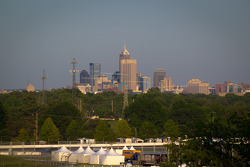 A view of Downtown Indianapolis from the Pagoda