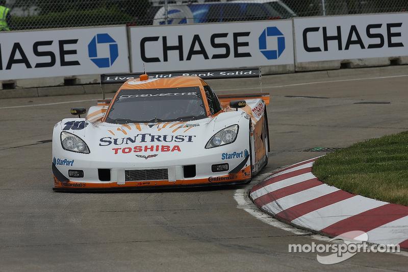 #10 Sun Trust Racing Corvette DP: Max Angelelli, Ricky Taylor