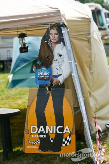 Danica Patrick cardboard cutout