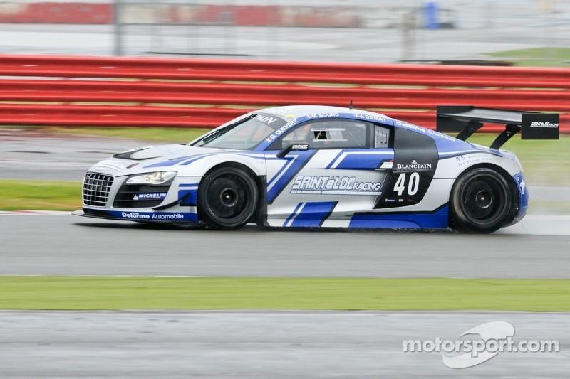 #40 Sainteloc Racing Audi R8 LMS ultra: Gregory Guilvert, David Halliday, Jerome Demay