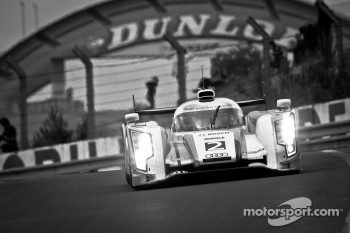 #2 Audi Sport Team Joest Audi R18 E-Tron Quattro: Rinaldo Capello, Tom Kristensen, Allan McNish