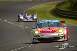 #79 Flying Lizard Motorsports Porsche 911 RSR: Seth Neiman, Darren Law, Spencer Pumpelly