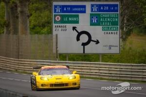 #73 Corvette Racing Chevrolet Corvette C6 ZR1: Jan Magnussen, Antonio Garcia, Jordan Taylor