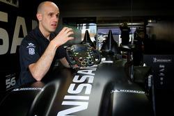 Marino Franchitti talks about the #0 Highcroft Racing Delta Wing Nissan