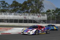 Maurizio Scala Ferrari of Ft. Lauderdale and Henrik Hedman Ferrari of Ft Lauderdale 458CS