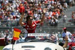 Fernando Alonso, Scuderia Ferrari on the drivers parade