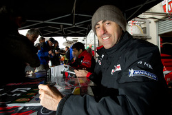Autograph session: David Brabham