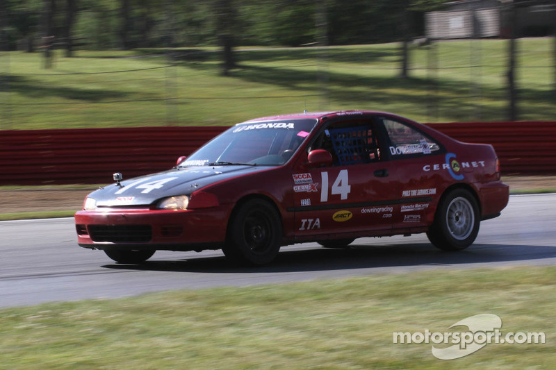#14 ITA Honda Civic EX Matt Downing SCCA Ohio Valley Region