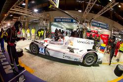 Pit stop for #44 Starworks Motorsports HPD ARX 03b Honda: Enzo Potolicchio, Ryan Dalziel, Tom Kimber-Smith
