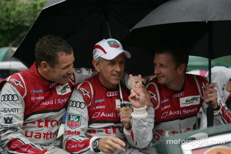 Tom Kristensen, Rinaldo Capello, Allan McNish