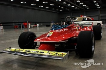 1980 Ferrari 312T5 on display