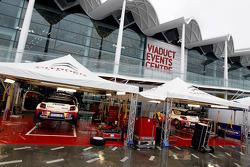 Citroën team area