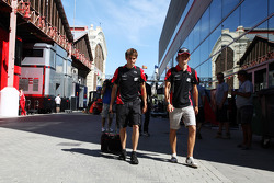 Charles Pic, Marussia F1 Team in the paddock