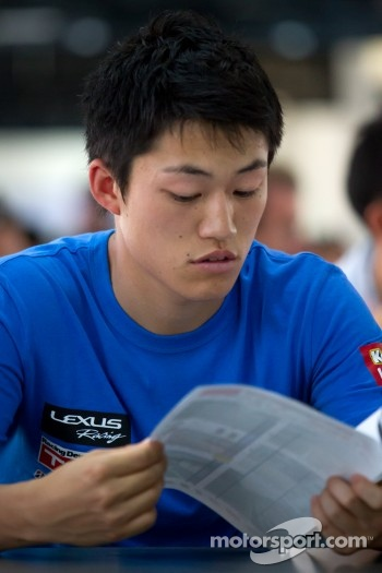 Drivers meeting: Yuji Kunimoto