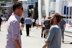 Andre Lotterer, with Nick Heidfeld