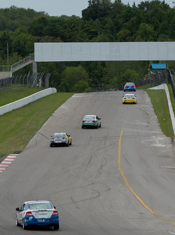 Turn one to two at the Canadian Tire Motorsport Park