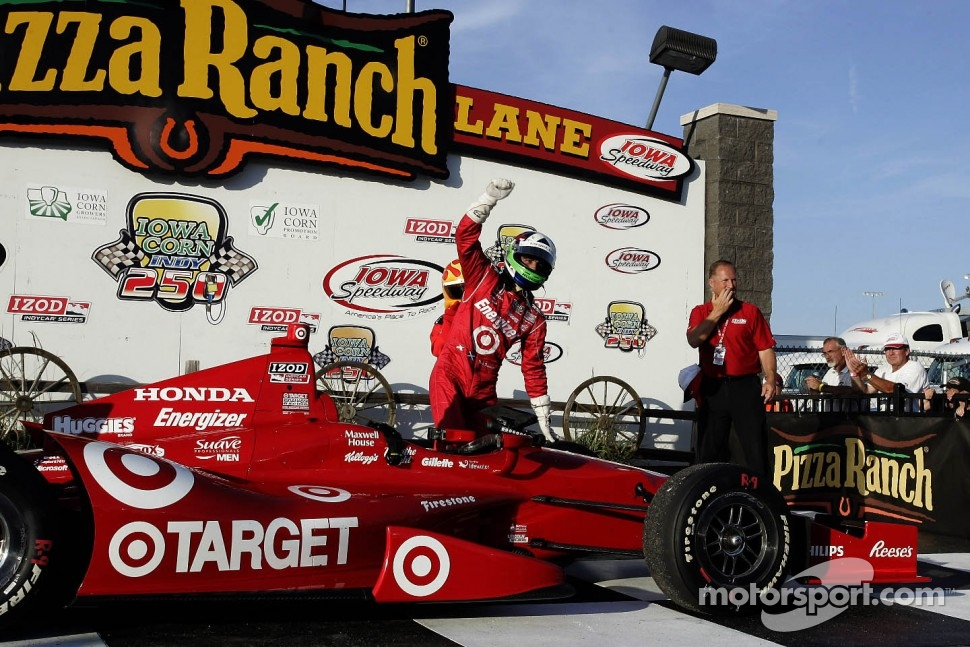 Polesitter Dario Franchitti, Target Chip Ganassi Racing Honda