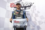 Polesitter Jimmie Johnson, Hendrick Motorsports Chevrolet