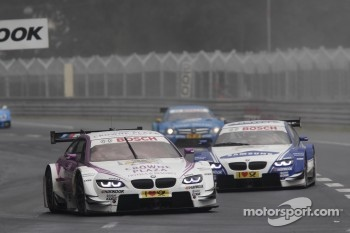 Andy Priaulx, BMW Team RBM BMW M3 DTM, Joey Hand, BMW Team RMG BMW M3 DTM