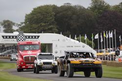 Truck parade