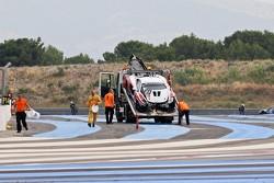 #23 McLaren is recovered