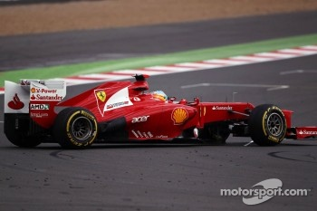 Fernando Alonso, Ferrari spins