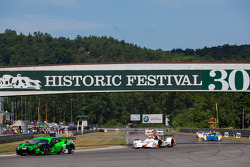 The Main Straight leading into Big Bend at Lime Rock