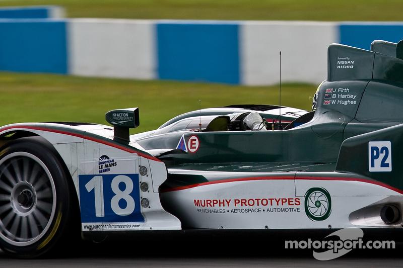 #18 Murphy Prototypes Oreca 03 Nissan: Jody Firth, Warren Hughes, Brendon Hartley