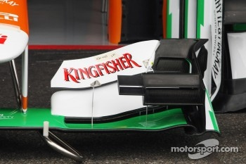 Sahara Force India F1 VJM05 front wing detail