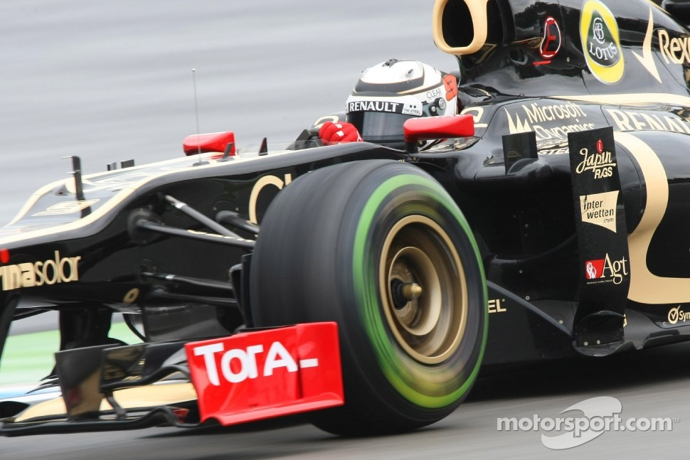 Kimi Raikkonen, Lotus F1 Team