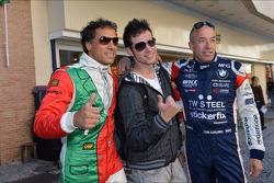 Autograph session, Stefano D'Aste, BMW 320 TC, Wiechers-Sport and Tom Coronel, BMW 320 TC, ROAL Motorsport