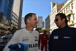Autograph session, Alain Menu, Chevrolet Cruze 1.6T, Chevrolet and Mehdi Bennani, BMW 320 TC, Proteam Racing